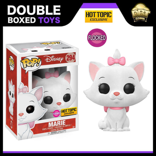 Disney The Aristocats: Flocked Marie Hot Topic Exclusive Funko Pop