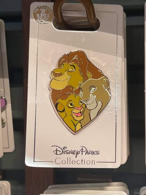 Disney Parks 'Pin Trader' Lion King - Mufasa, Sarabi & Simba Pin