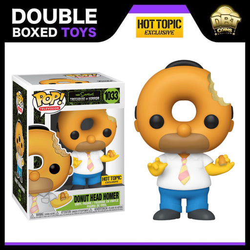 The Simpsons: Donut Head Homer Hot Topic Exclusive Funko Pop