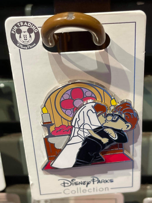 Disney Parks 'Pin Trader' Carl and Ellie Wedding Kiss  Pin