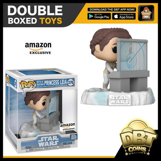 Star Wars Battle at Echo Base Series: Princess Leia Amazon Exclusive Deluxe Funko Pop (5 of 6)