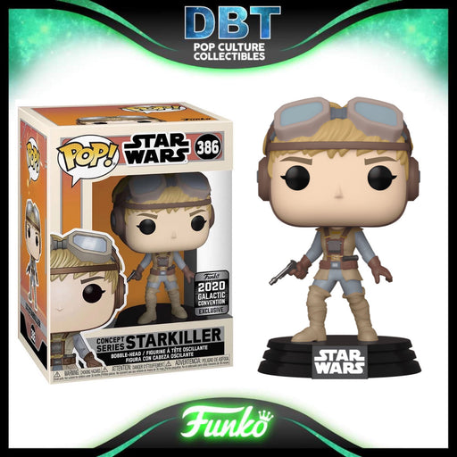 Star Wars: Starkiller McQuarrie Concept (Galactic Convention 2020) Exclusive Funko Pop