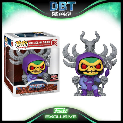 Masters of the Universe: Skeletor on Throne Target Exclusive Deluxe Funko Pop