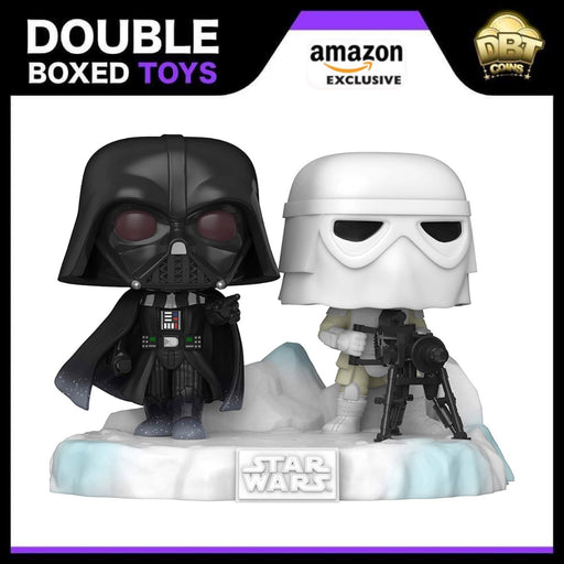 Star Wars Battle at Echo Base Series: Darth Vader and Snowtrooper Amazon Exclusive Deluxe Funko Pop (6 of 6)