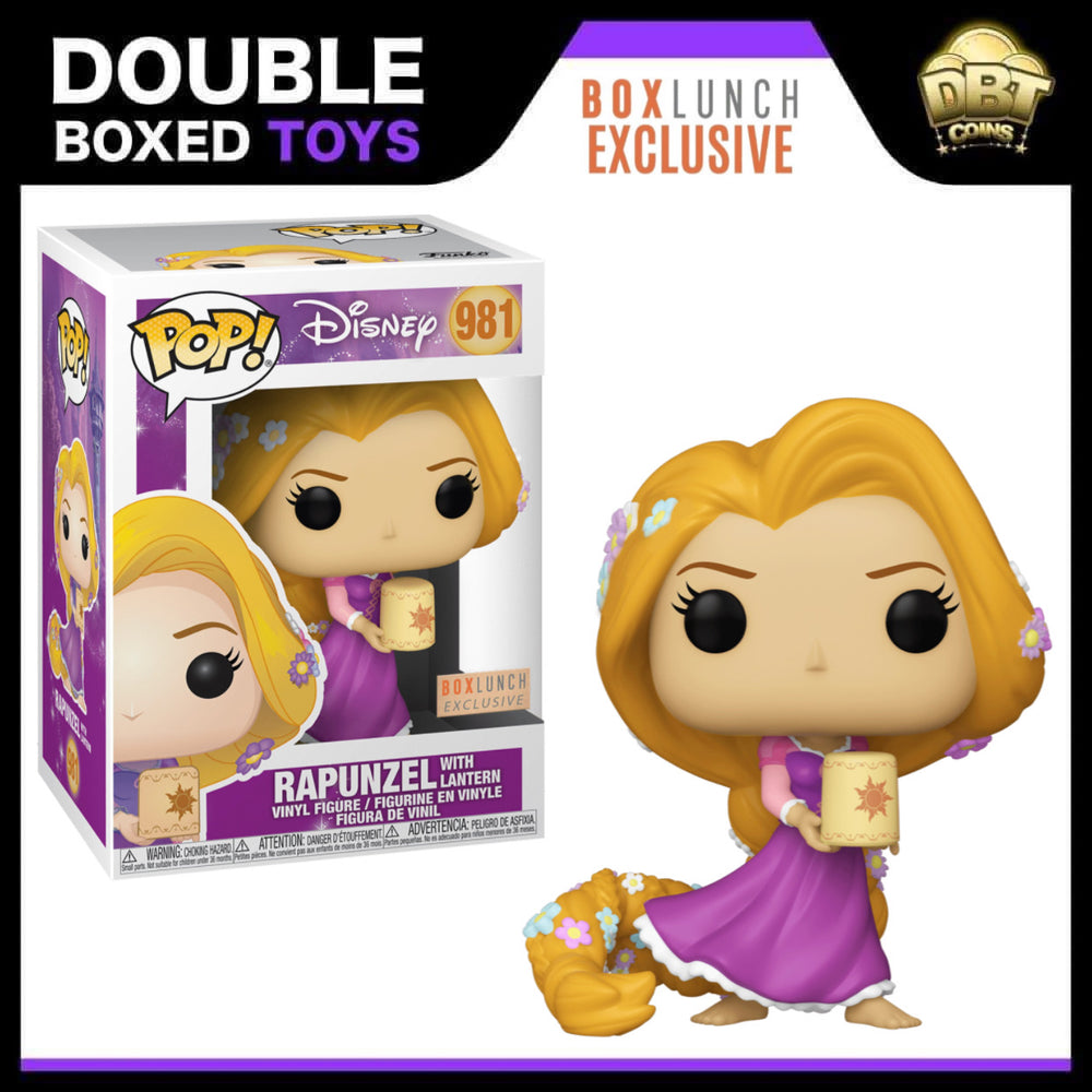 Disney Tangled: Rapunzel with Lantern Box Lunch Exclusive Funko Pop
