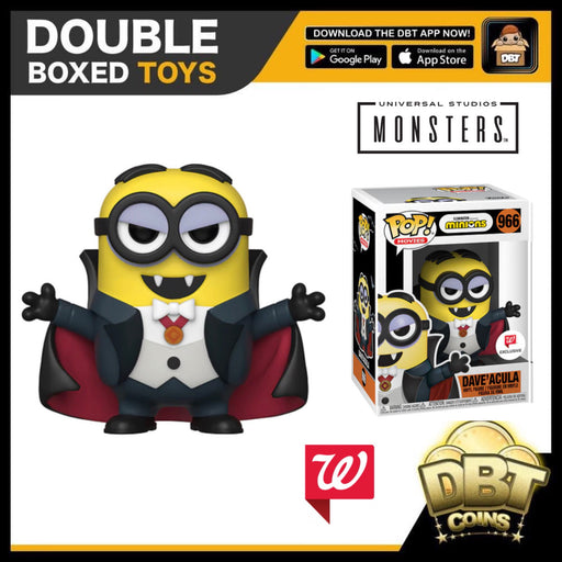 Minions: Dave'acula Walgreens Exclusive Funko Pop