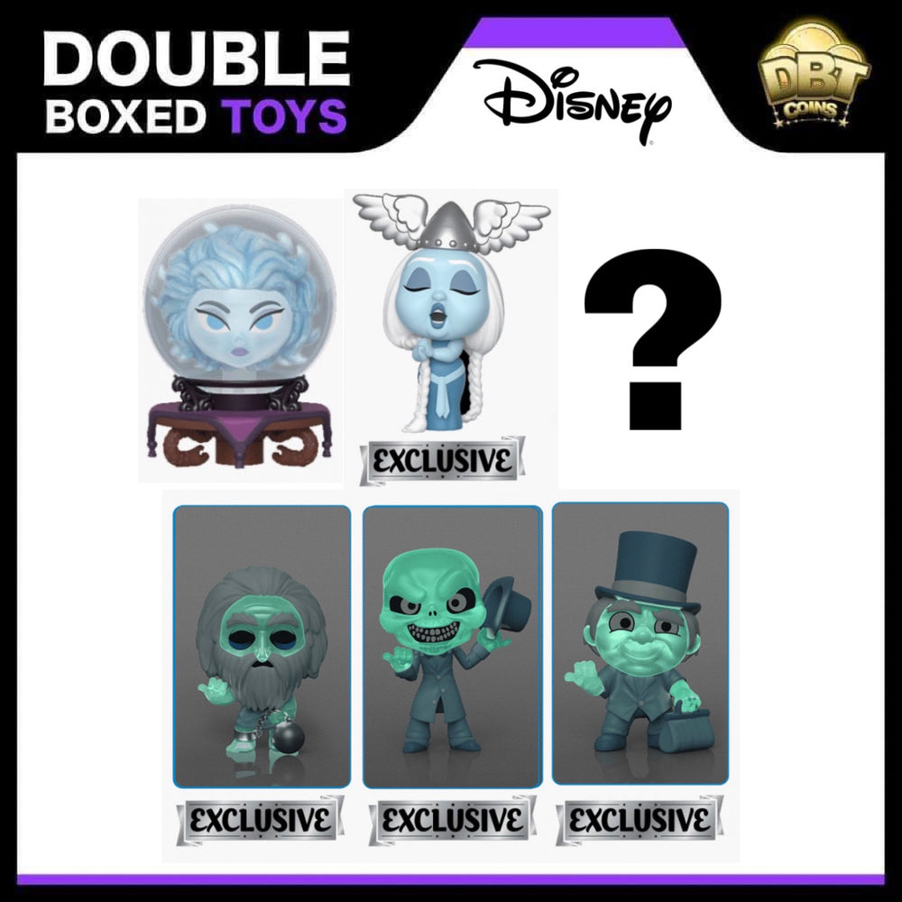 Disney Haunted Mansion: Mystery Mini Target Exclusive Set of 6