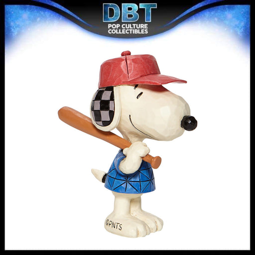 "Jim Shore Peanuts: Baseball Snoopy 3"" Mini Figurine"