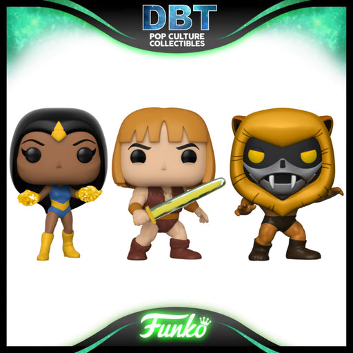 Thundarr The Barbarian ECCC 2021 Exclusive Funko Pop Set of 3