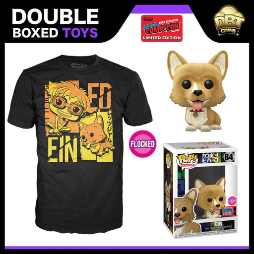 Cowboy Bebop: Flocked Ein Funko Pop & Tee NYCC 2020 Exclusive