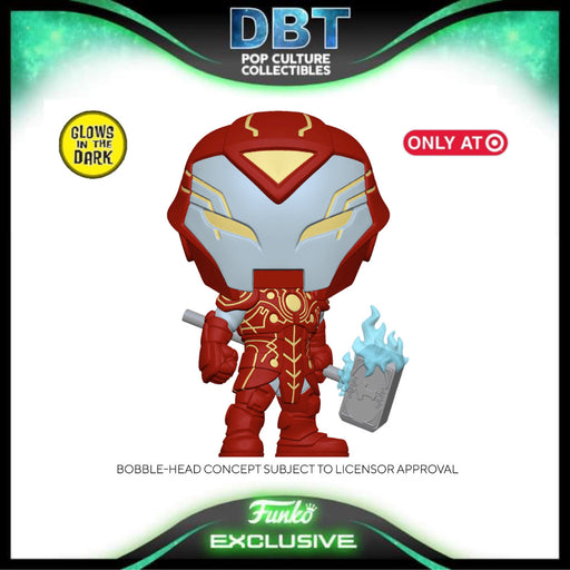 Marvel Infinity Warps: Iron Hammer GITD Target Exclusive Funko Pop