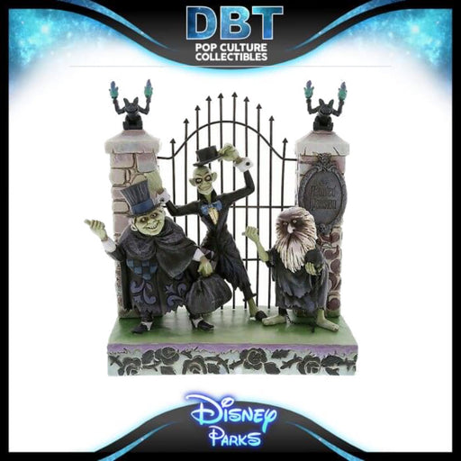 Disney: Jim Shore Disney Traditions Haunted Mansion.- Disney Parks Exclusive