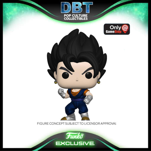 Dragon Ball: Vegito Metallic GameStop Exclusive Funko Pop