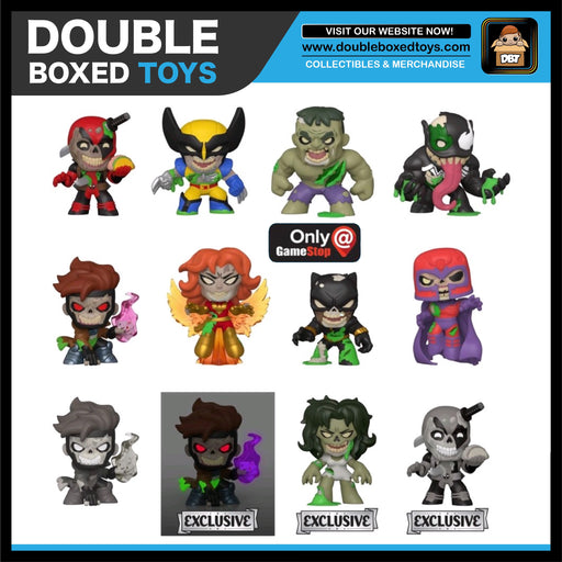 Marvel Zombies Mystery Minis GameStop (Case Size 12)