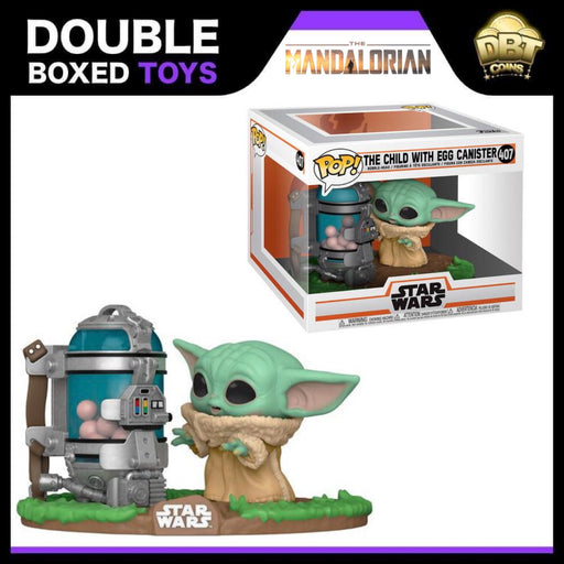 Star Wars The Mandalorian: The Child with Egg Canister Funko Pop
