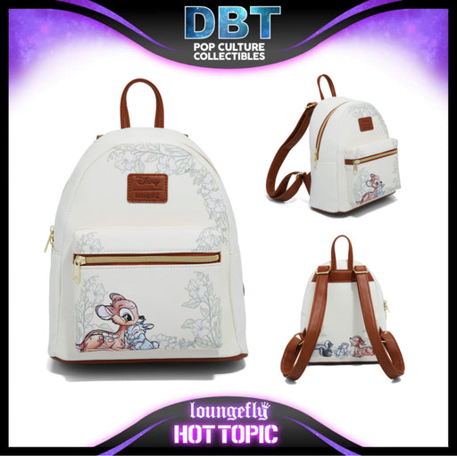 Disney Loungefly - Bambi Watercolor Mini Backpack - Hot Topic Exclusive
