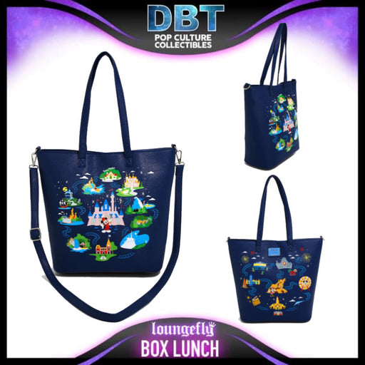 Loungefly Disneyland 65th Anniversary Tote - BoxLunch Exclusive