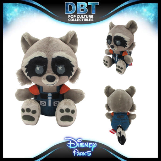 Rocket Disney Parks Wishables Plush – Guardians of the Galaxy: Mission Breakout! – Micro 4'' – Limited Release