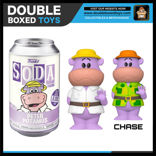 Vinyl Soda: Hanna Barbera - Peter Potamus (London Toy Fair 2020) (with Chance of Chase)