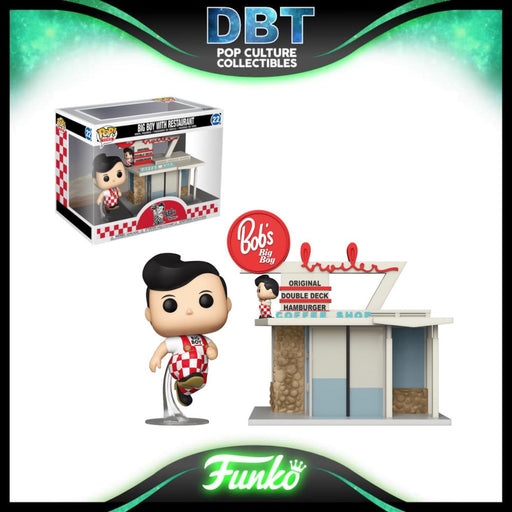 Ad Icons: Big Boy With Restaurant Funko Pop Town