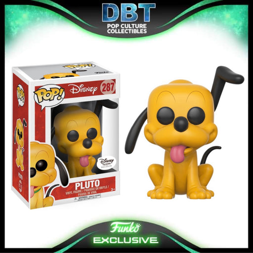 Disney: Pluto Disney Treasures Exclusive Funko Pop