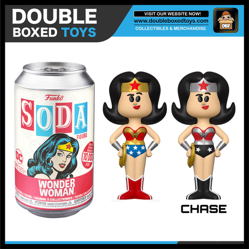 Vinyl Soda: DC Comics - Wonder Woman (London Toy Fair 2020) (with Chance of Chase)