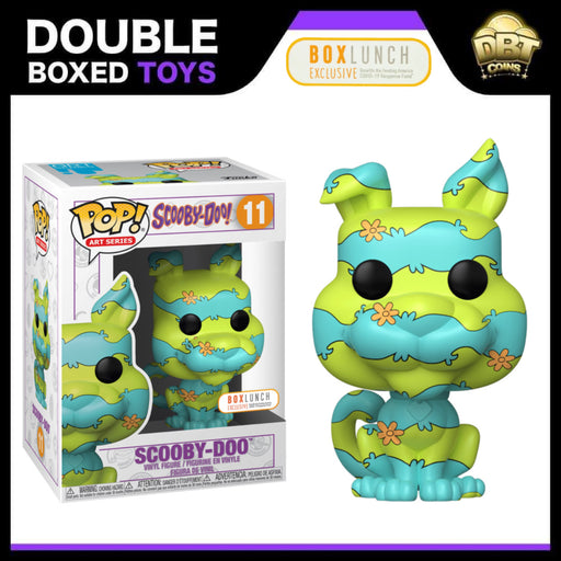 Scooby-Doo: Scooby-Doo Art Series Feeding America Box Lunch Exclusive Funko Pop (comes sealed in Hard Stack)