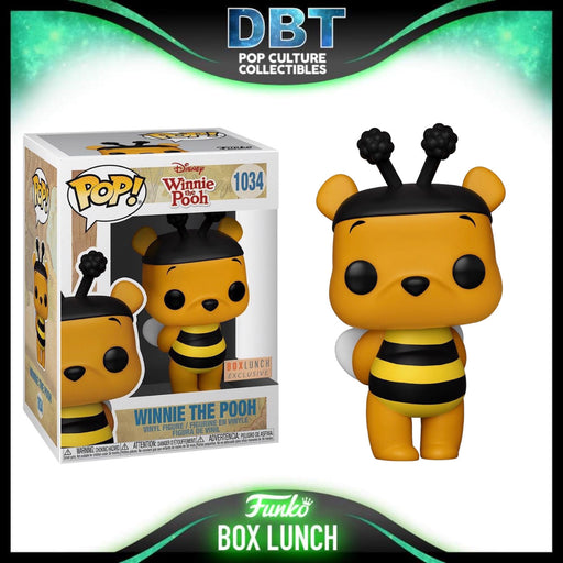 Disney: Winnie The Pooh Bumble Bee Box Lunch Exclusive Funko Pop