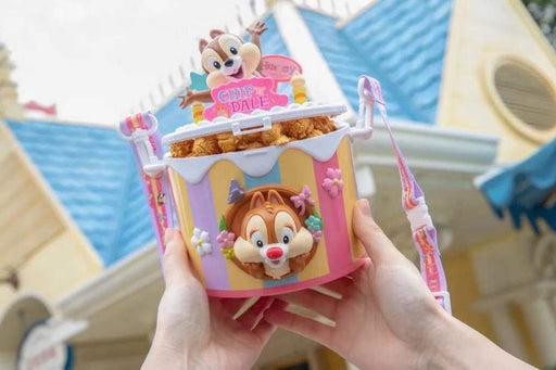 Chip & Dale Cake Popcorn Bucket - Shanghai Disneyland Resort