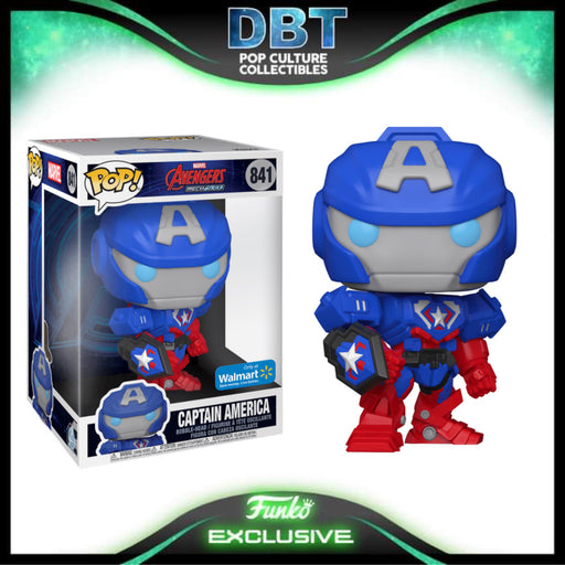 Marvel MechStrike: Captain America Walmart Exclusive Jumbo Funko Pop