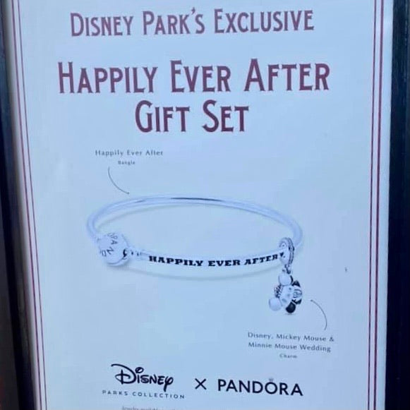 Disney Pandora - Happily Ever After Gift Set - Disney Parks Exclusive