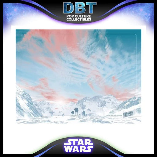 Star Wars: The Empire Strikes All Terrain by Guy Stauber Lithograph Art Print