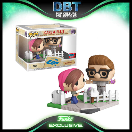 Disney Pixar Up: Carl & Ellie NYCC 2020 Exclusive Funko Pop Movie Moment