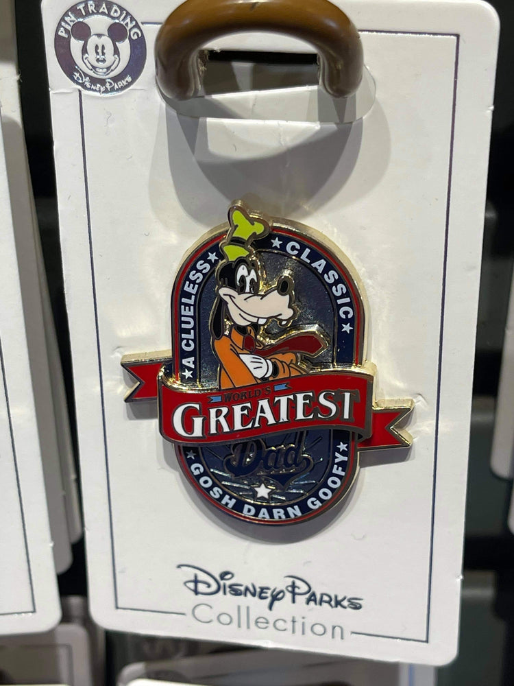 Disney Parks 'Pin Trader' World's Greatest Dad Goofy Pin