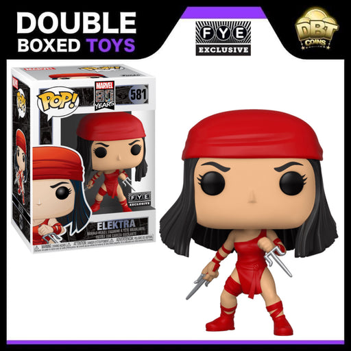 Marvel: Elektra (1st Appearance) FYE Exclusive Funko Pop