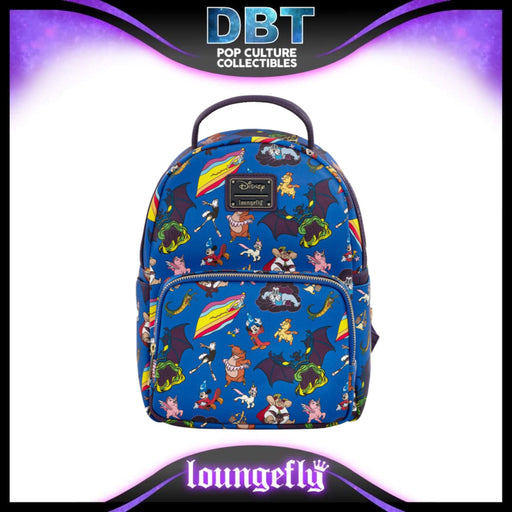 Disney Loungefly: Fantasia Characters AOP Mini Backpack - Exclusive
