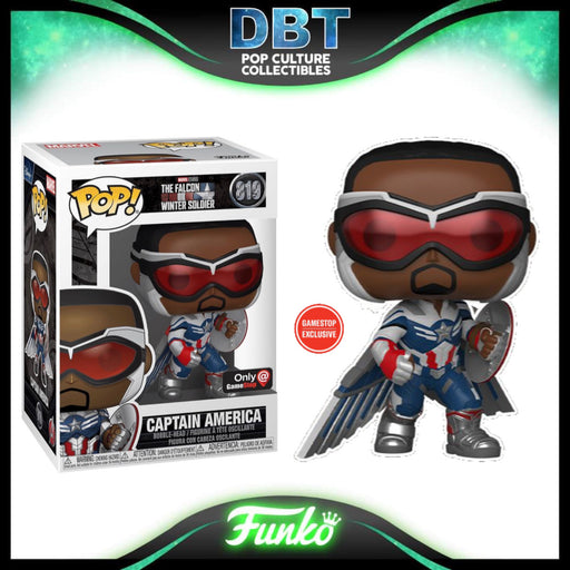 Marvel Falcon and the Winter Soldier: Captain America - Sam Wilson GameStop Exclusive Funko Pop