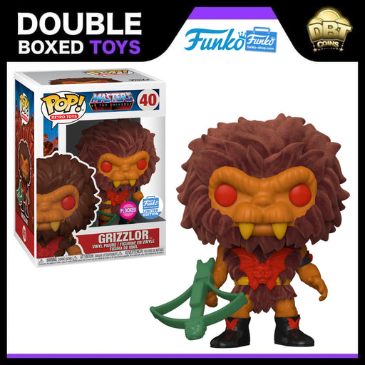 Masters of the Universe: Flocked Grizzlor Funko-Shop Exclusive Funko Pop