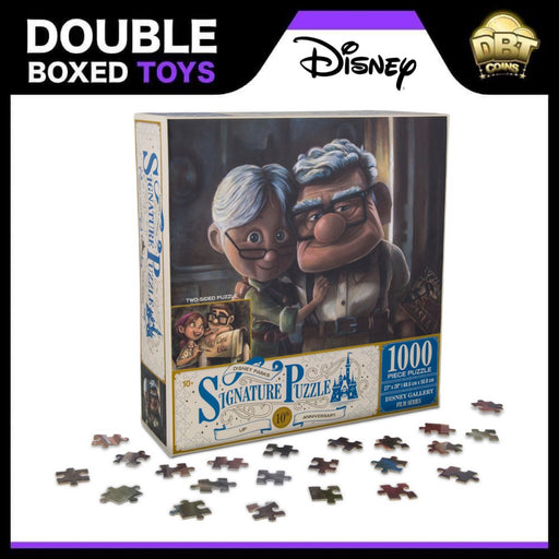 Carl and Ellie Double Sided Signature Puzzle - 1000pcs Jigsaw - Disney Parks Exclusive