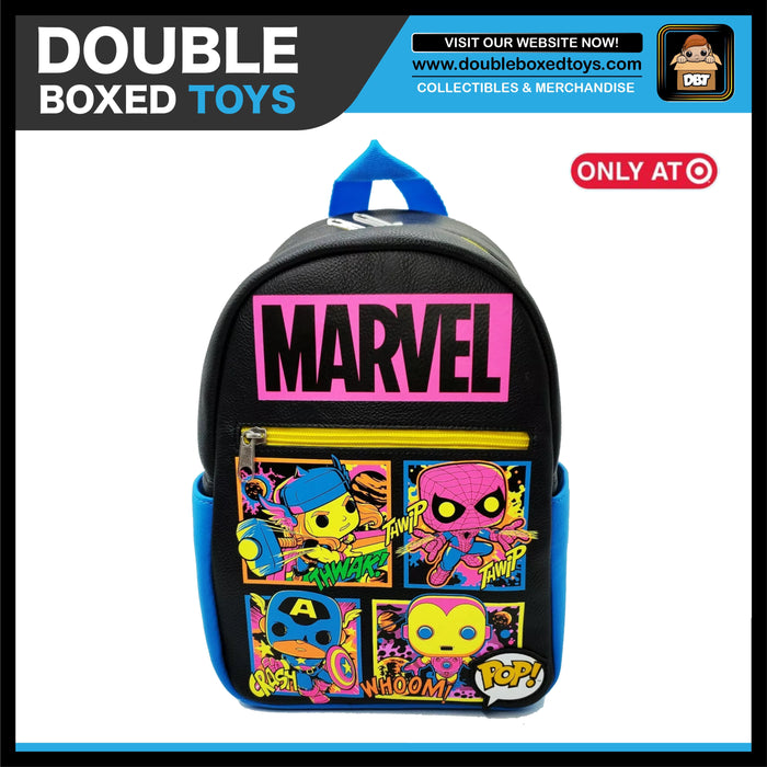 Marvel Blacklight Target Exclusive Mini Backpack
