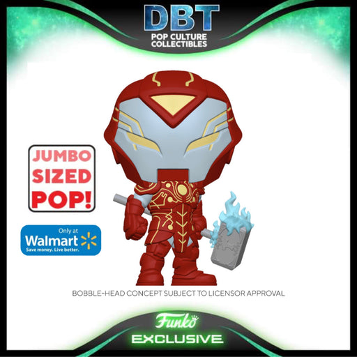 Marvel Infinity Warps: Iron Hammer Walmart Exclusive Jumbo Funko Pop