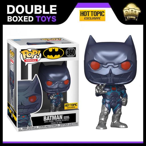 DC Comics: Batman Murder Machine Hot Topic Exclusive Funko Pop (with 1:6 Chance of Chase)