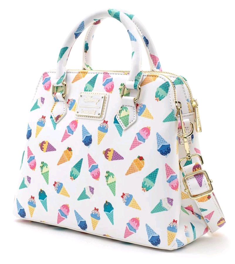 Disney Loungefly: Disney Princess Ice Cream Crossbody Bag