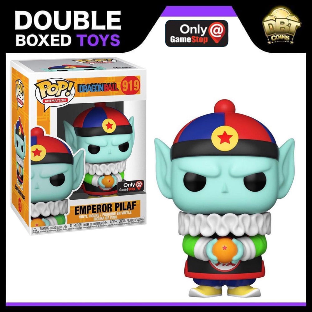 Dragon Ball Z: Emperor Pilaf Gamestop Exclusive Funko Pop