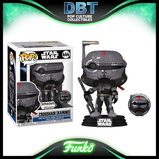 Star Wars The Bad Batch: Crosshair (Kamino) Across The Galaxay Amazon Exclusive Funko Pop & Pin