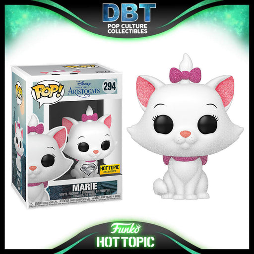 Disney The Aristocats: Marie Diamond Collection Hot Topic Exclusive Funko Pop