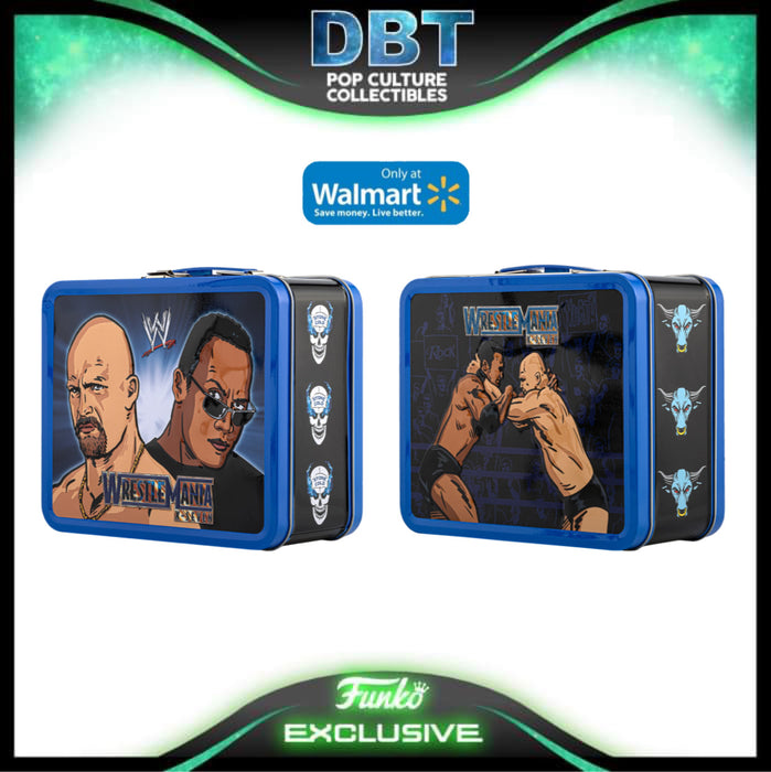 WWE: Stone Cold vs The Rock Walmart Exclusive Funko Lunchbox