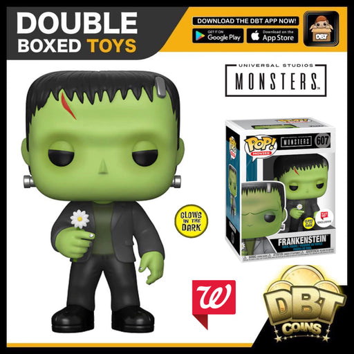 Universal Monsters: GITD Frankenstein with Flower Walgreens Exclusive Funko Pop