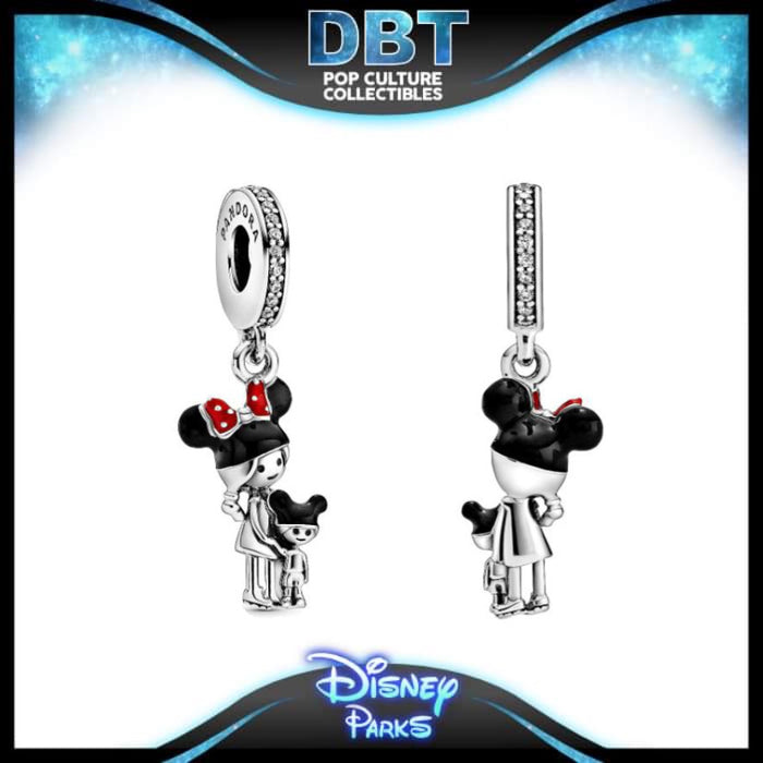 Disney Pandora - Mouseketeer Mom and Child - Disney Parks Exclusive