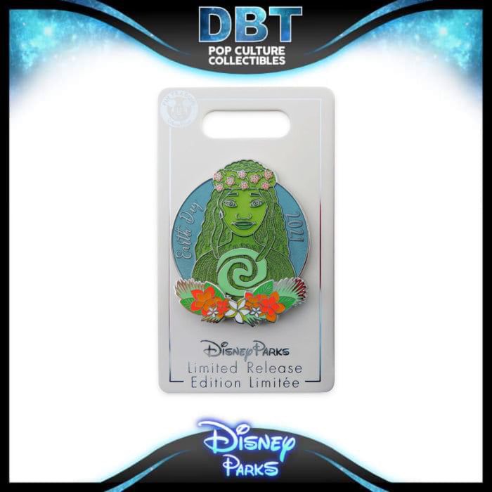 Disney Parks 'Pin Trader' Moana Pin – Earth Day 2021 – Limited Release